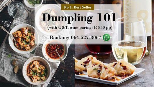 Dumpling 101 with Wine Pork Prawn (1 seat)