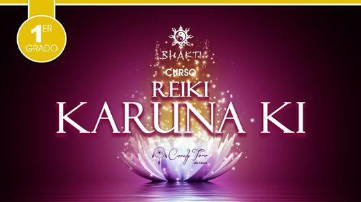 Reiki Karuna Ki - 1er Grado (intensivo)