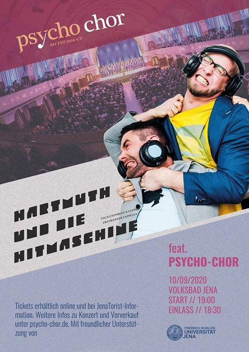 Doppelkonzert Psycho-Chor Jena feat Hartmuth und die Hitmaschine