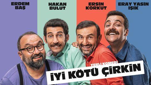 İyi Kötü Çirkin' Tiyatro Bileti 59 TL Yerine 41 TL, 24 October   Event in Tekirdað   AllEvents.in