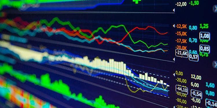 Demonstracinė sąskaita valiutų diagramoje