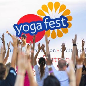 Yogafest Dubai 2021 at Dubai Internet City Amphitheatre