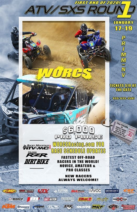 Round 1 - ATV & SXS Only  Buffalo Bills  Primm NV
