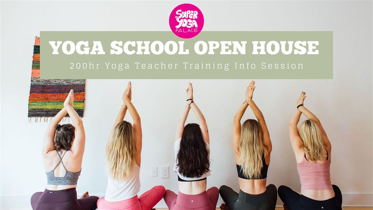 Syp Teacher Training Open House At Super Yoga Palace Dallas