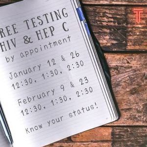 HIV & Hep C Testing at GRPC