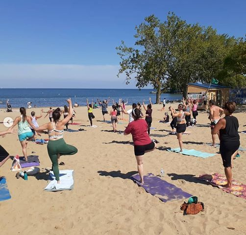 Donation-Based Beach Yoga for Every BODY (Social Distancing)