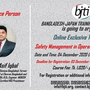 Safety Management in Operation and Maintenance