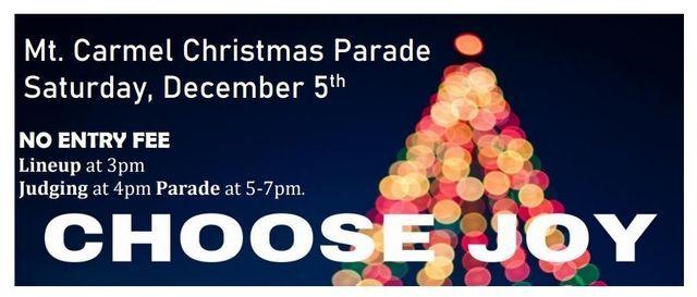 Mt. Carmel Christmas Parade, Uptown, Mount Carmel, 5 December