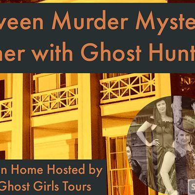 Halloween Mder Mystery Dinner  Ghost Hunt Birminghams Arlington House