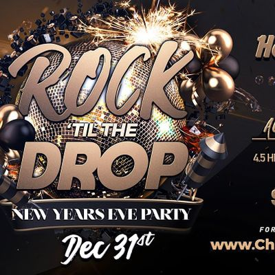 New Years Eve Party 2021 - Rock Til The Drop at Hard Rock Cafe Chicago | Chicago