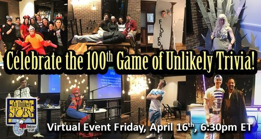 Virtual Unlikely Trivia   Online Event   AllEvents.in