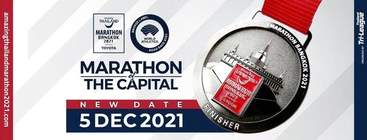 Amazing Thailand Marathon Bangkok 2021 presented by Toyota, 5 December | Event in Bangkok | AllEvents.in