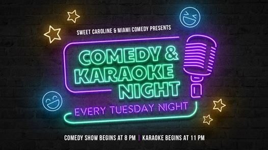 Comedy & Karaoke Night at Sweet Caroline