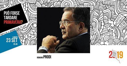 Premio Costruttori di ponti a Romano Prodi  MolteFedi2019