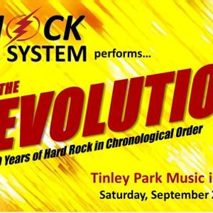 Shock The System at Tinley Park Music in the Plaza