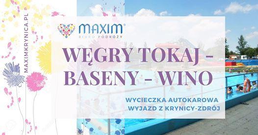 Wgry Tokaj - baseny - wino