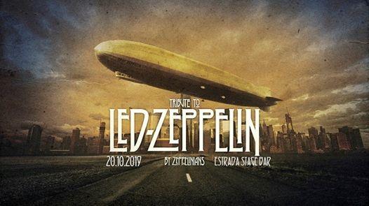 Tribute to Led Zeppelin 20.10.2019 Estrada Stage Bar Bydgoszcz
