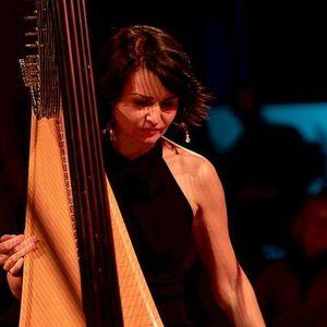 Alina Hip Harp at the Ipswich Jazz Festival