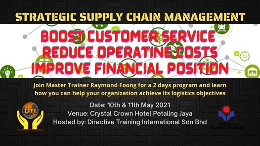 Strategic Supply Chain Management, 10 May | Event in Petaling Jaya | AllEvents.in