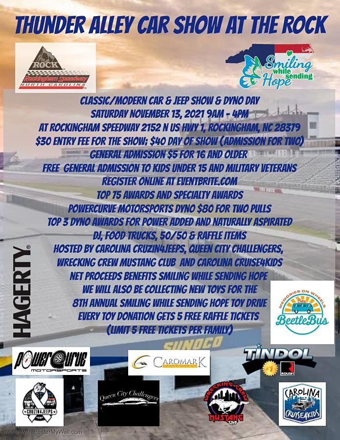 Thunder Alley Car Show at the Rock, 13 November | Event in Rockingham | AllEvents.in