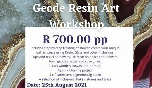 Wall Art Resin Workshop, 25 August | Event in Boksburg | AllEvents.in