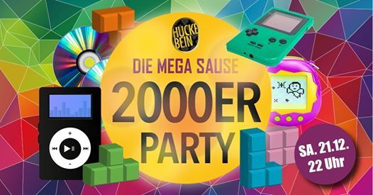 2000er Party Mega Sause