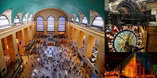 'Grand Central Terminal and the Secrets Within' Webinar, 16 March | Online Event | AllEvents.in