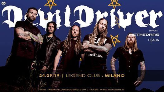 DevilDriver  Legend Club Milano