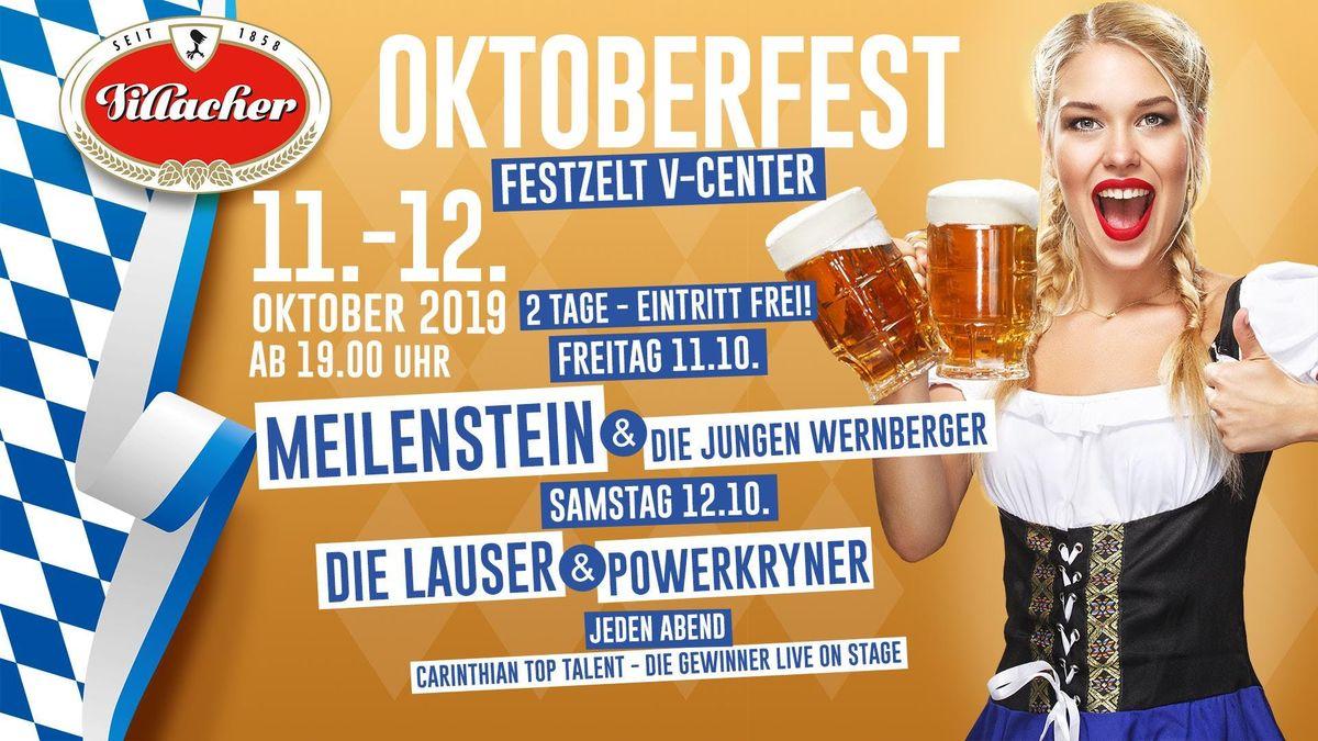 Villacher Oktoberfest- Samstag- Im Festzelt am V-Center Parkplatz