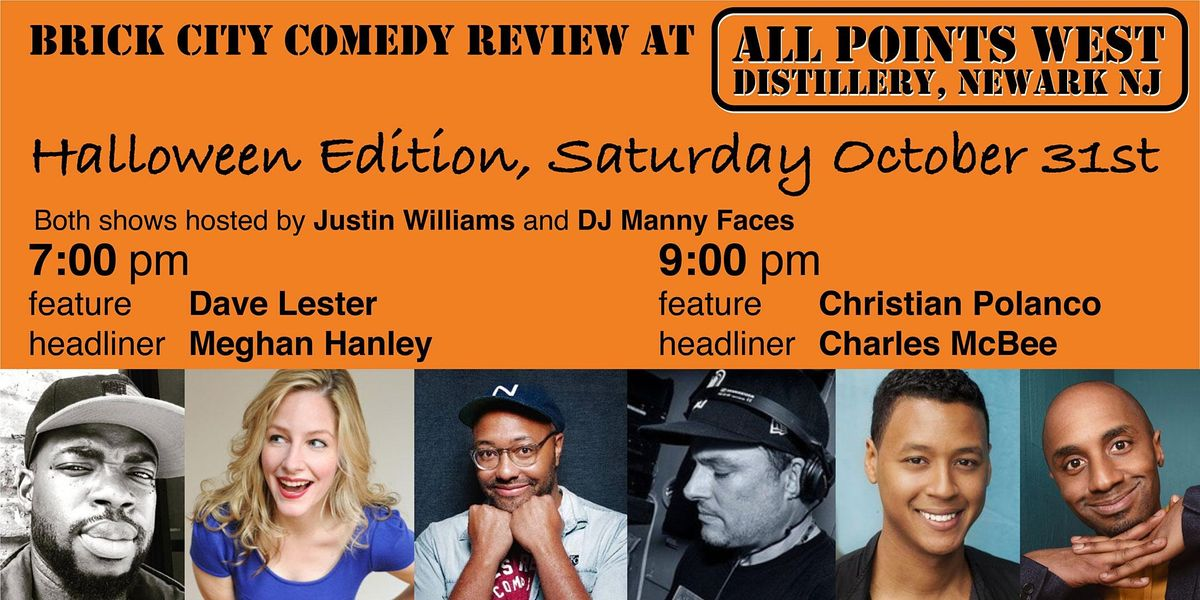 Brick City Comedy Review at All Points West Distillery, Halloween, 1 Table | Event in Newark | AllEvents.in