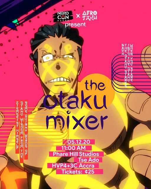 The Otaku Mixer | Event in Accra | AllEvents.in