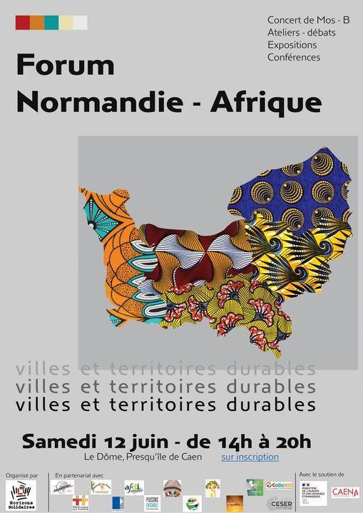 Forum Normandie-Afrique | Event in Caen | AllEvents.in
