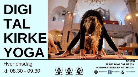 Online KirkeYoga | Event in Lyngby | AllEvents.in