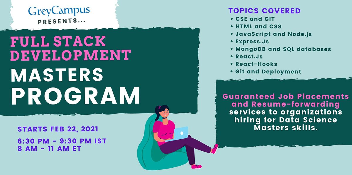Full Stack Development Masters Program | Online Event | AllEvents.in
