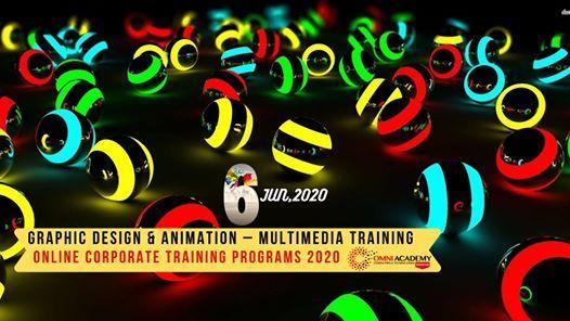 Graphic Design & Animation  Multimedia Training [ Online ]