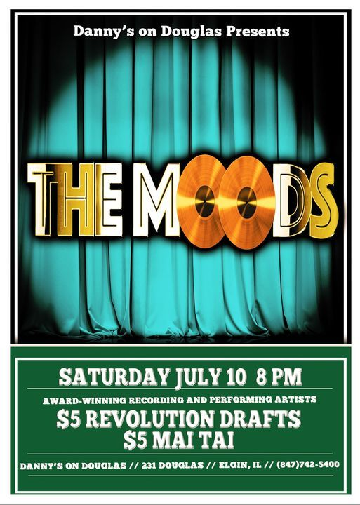 The Moods, 10 July | Event in Elgin | AllEvents.in