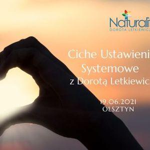 Ciche Ustawienia Systemowe  z Dorot Letkiewicz