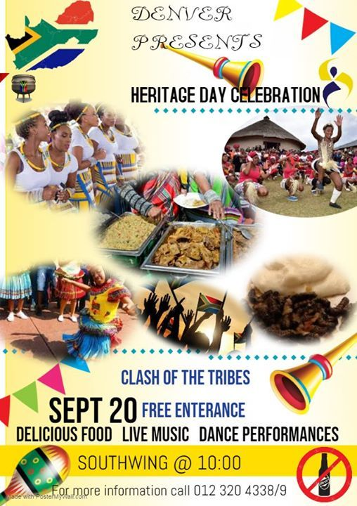 Heritage Day Celebration Along with Mr and Miss Denver