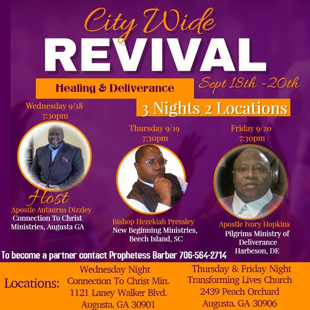 Deliverance events in the City  Top Upcoming Events for