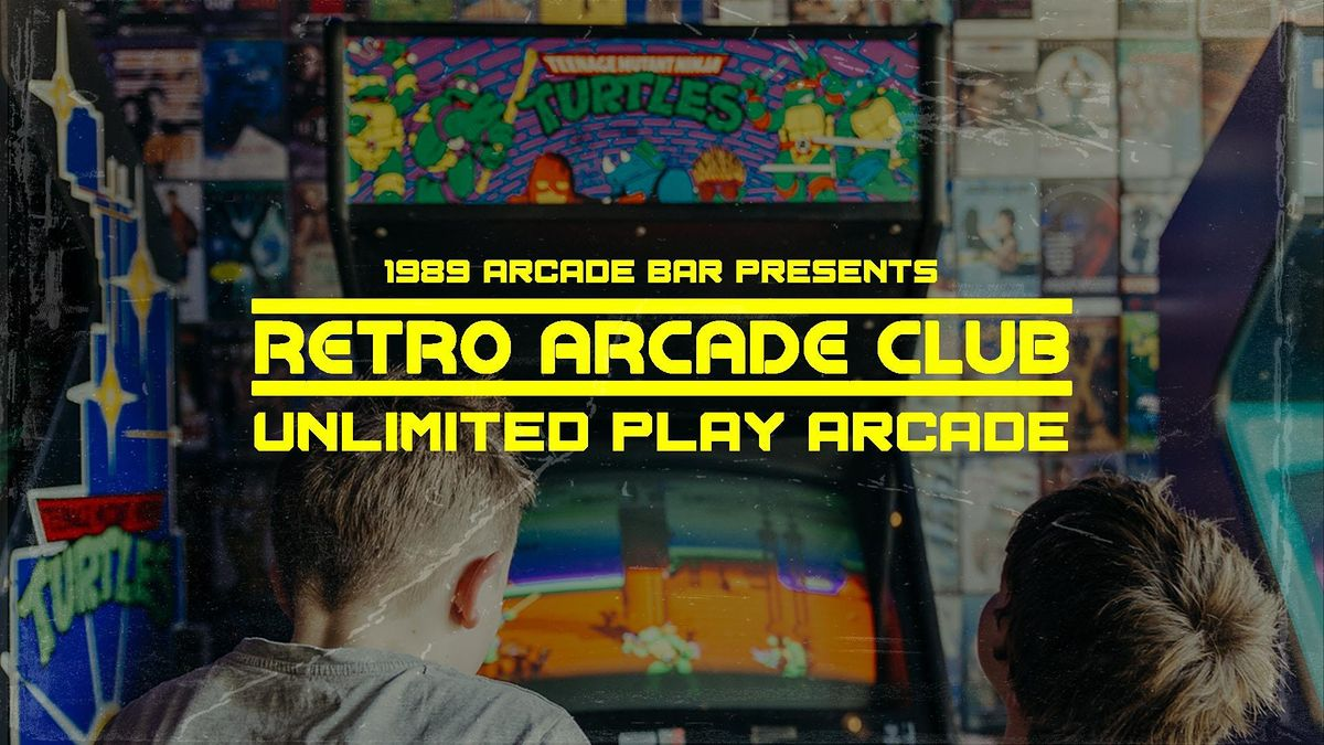 Retro Arcade Club - Unlimited Play Arcade, 1 November | Event in Newtown | AllEvents.in