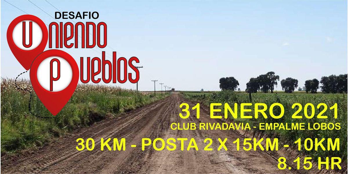 Desafo Uniendo Pueblos 30 km 2021