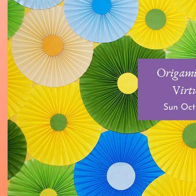 Origami Flower Making Virtual Workshop