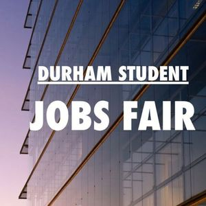 Durham Student Jobs Fair