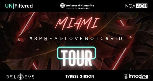 SLNC Immersive Wellbeing Tour with Music, Biohacking, Yoga, Fitness, Art with Tyrese Gibson   Event in Miami