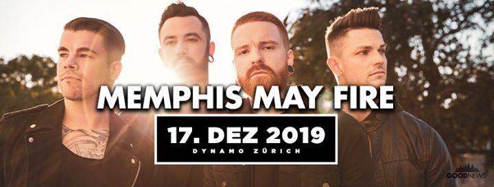Memphis May Fire - Dynamo Zrich