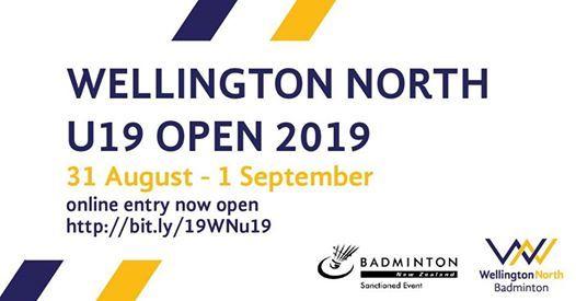 Wellington North U19 Open 2019