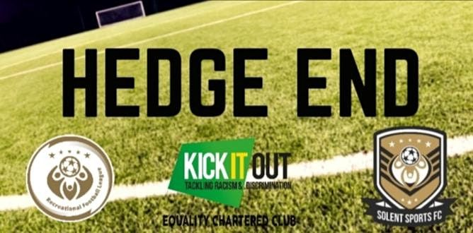 Recreational Football Hedge End | Event in Hedge End | AllEvents.in