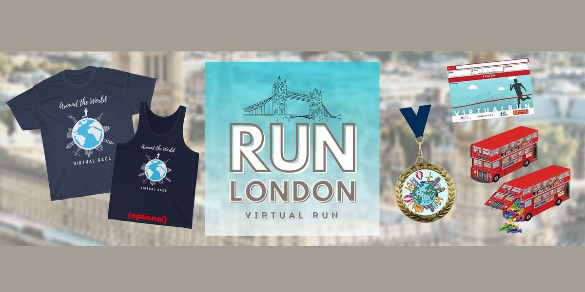 Run London Hybrid Race 2021, 19 June | Online Event | AllEvents.in