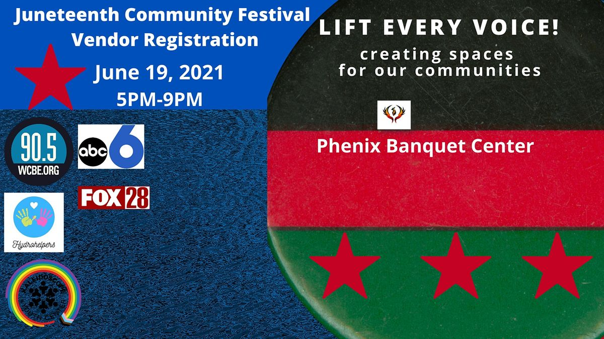 Vendor Registration Juneteenth Community Festival   Event in Columbus   AllEvents.in