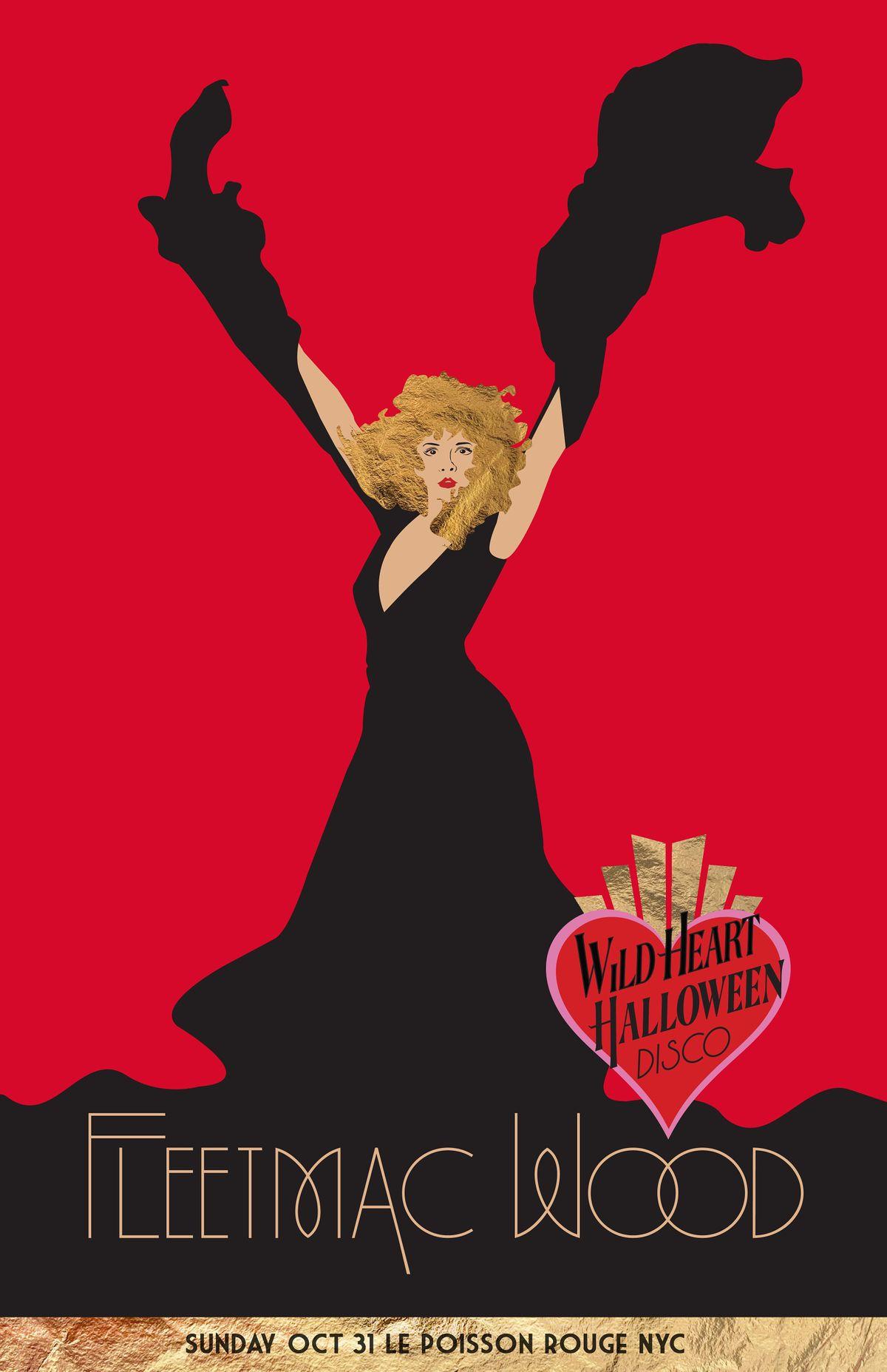 Fleetmac Wood presents Wild Heart Disco, 31 October   Event in New York   AllEvents.in